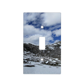 Snow Covered Donahue Pass - John Muir TraIl Light Switch Cover