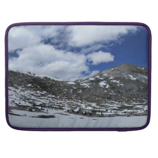 Snow Covered Donahue Pass - John Muir TraIl Sleeve For MacBook Pro