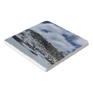 Snow Covered Donahue Pass - John Muir TraIl Trivet