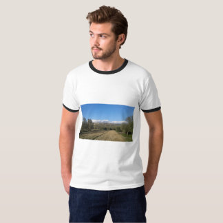Snow covered Ida Mountains Shirt