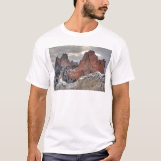 Snow Covered Monoliths 01 T-Shirt
