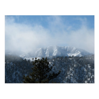 Snow Covered Mountain Postcard