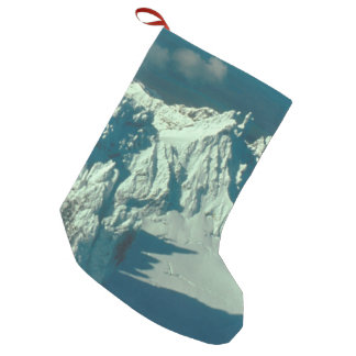 Snow Covered Swiss Alps Small Christmas Stocking