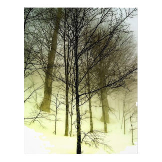 Snow Covered Trees Flyer