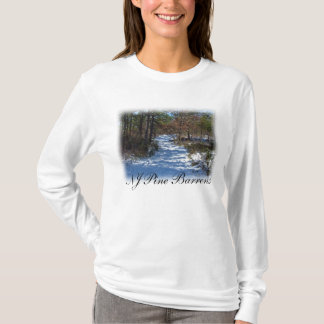 Snow Covered Woodland Path T-Shirt
