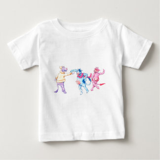 Snow Cows Baby T-Shirt