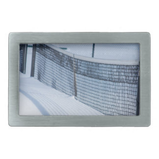 Snow Day Belt Buckle