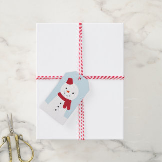 Snow Day - Bunny & Snowman Gift Tags