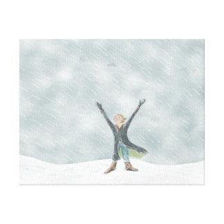 Snow Day Canvas