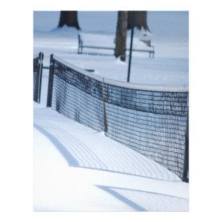 Snow Day Letterhead