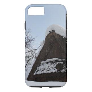 Snow deep Shirakawa home village iPhone 8/7 Case