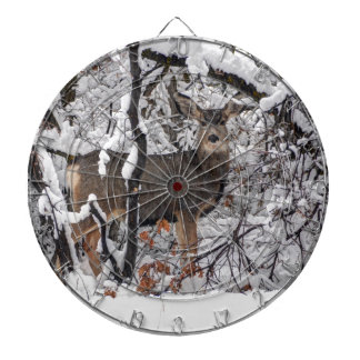 Snow Deer - Wasatch Front - Utah Dartboard