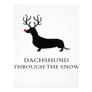 snow design cute letterhead
