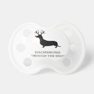 snow design cute pacifier