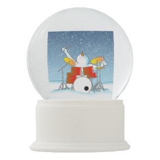 Snow Din Snow Globe