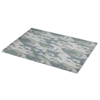 Snow disruptive camouflage boards