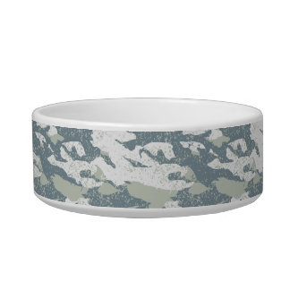 Snow disruptive camouflage bowl