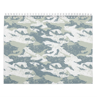 Snow disruptive camouflage calendars