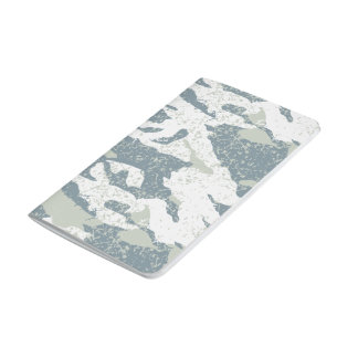 Snow disruptive camouflage journals