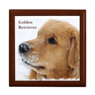 Snow Dog Golden Retriever Gift Box