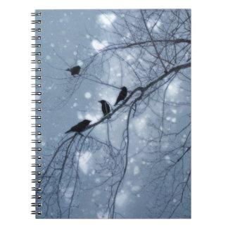 Snow Dream Spiral Notebook