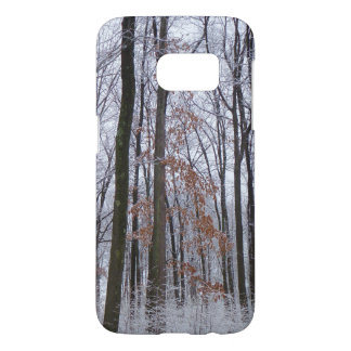 Snow Dusted Forest Winter Landscape Photography Samsung Galaxy S7 Case