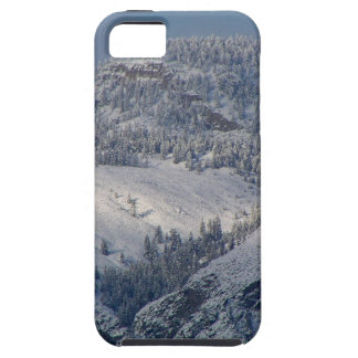 Snow dusted mountains in south Okanagan iPhone 5 Covers