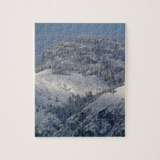 Snow dusted mountains in south Okanagan Jigsaw Puzzle