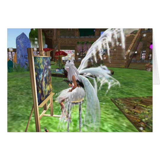 Snow Fairy Artist Card