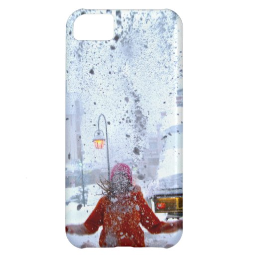 Snow fight france case for iPhone 5C