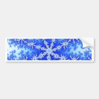 Snow Flake Bumper Sticker