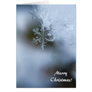 Snow Flake Christmas Card