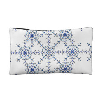Snow Flake Cosmetic Bag