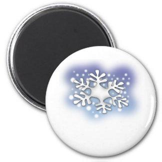 snow flake magnet