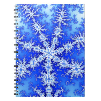 Snow Flake Notebook