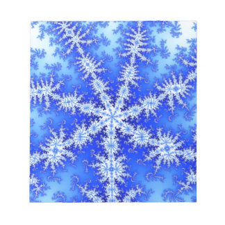 Snow Flake Notepad