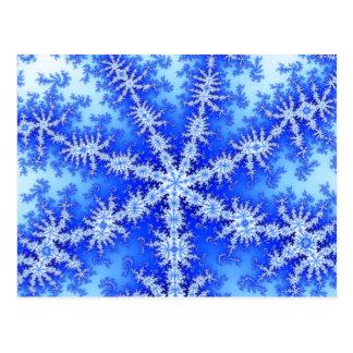 Snow Flake Postcard