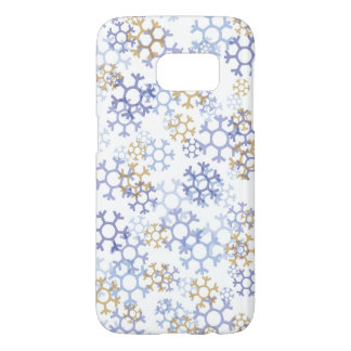 Snow Flakes Samsung Galaxy S7, Barely There Samsung Galaxy S7 Case
