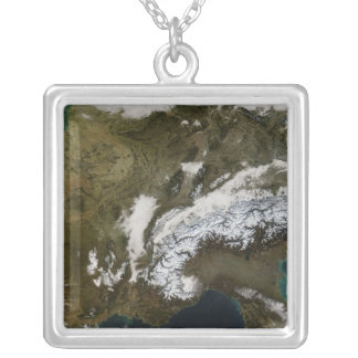 Snow, fog, and low clouds in western Europe Necklace