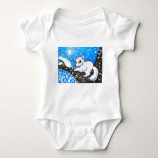 Snow Fox Baby Bodysuit