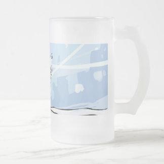 Snow Fox Frosted Mug