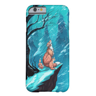 Snow foxes barely there iPhone 6 case