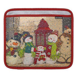 SNOW FRIENDS iPad SLEEVE
