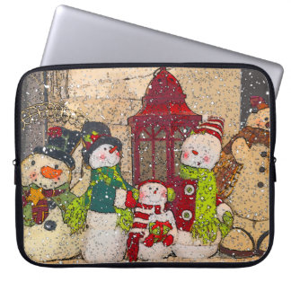 SNOW FRIENDS LAPTOP SLEEVE