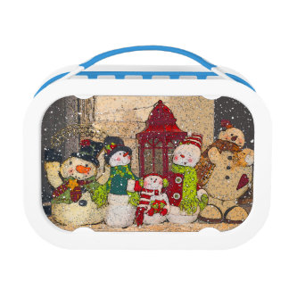 SNOW FRIENDS LUNCH BOX