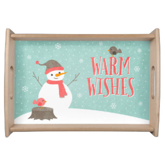 Snow Friends Serving Tray