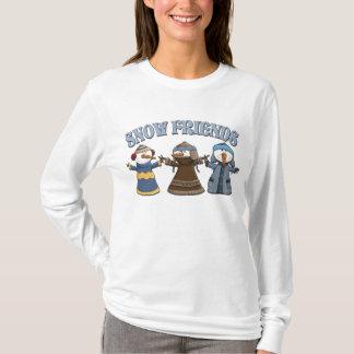 Snow Friends Snowmen T-Shirt