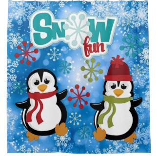 Snow Fun Penguins
