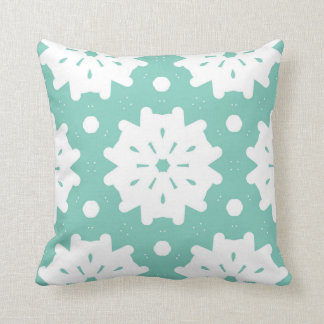 Snow Garden Throw Pillow