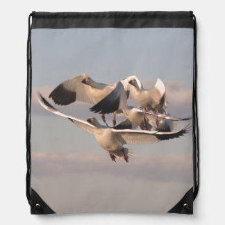 Snow Geese Birds Wildlife Animals Backpack